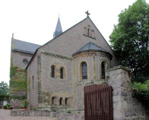 Petersberg. ehem. Stiftskirche St. Petrus
