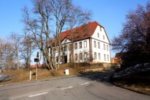 Pitzschendorf (Osterfeld), Gutshof