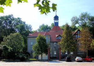 Rittergut Plaußig, Herrenhaus