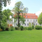 Rittergut Plotha, Herrenhaus