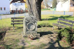 Gedenkstein für die Gefallenen des 1. Weltkriegs Pödelwitz