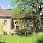 Herrenhaus Pommlitz, Rückseite