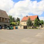 Rittergut Pommlitz, Wirtschaftshof