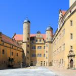 Schloss Lichtenburg Prettin, Schlosshof