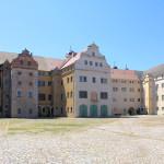 Schloss Lichtenburg Prettin, Hauptbau (Nordansicht)