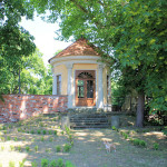 Schloss Lichtenburg Prettin. Gartenpavillon