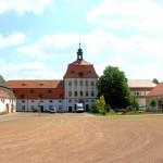 Rittergut Prießnitz, Gutshof und Pächterhaus