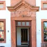 Rittergut Prießnitz, Pächterhaus, Portal