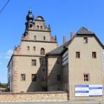 Schloss Prießnitz, Westgiebel