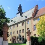 Schloss Prießnitz, Parkseite