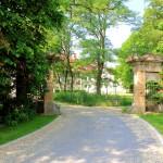 Rittergut Prößdorf, Zufahrt zum Gutshof