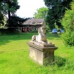 Rittergut Prößdorf, Skulptur im Park