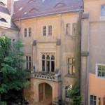 Rittergut Püchau, Nordflügel Schlosshof