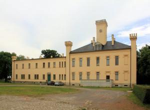 Rittergut Pülswerda, Herrenhaus Hofseite