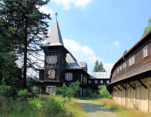 Rehefeld-Zaunhaus, Jagdschloss Rehefeld