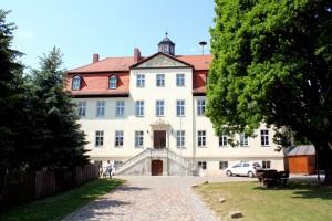 Rittergut Rehmsdorf (bei Zeitz) mit dem als Schloss bezeichneten Herrenhaus