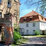 Rittergut Reuden (bei Zeitz), Herrenhaus und Zufahrt