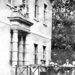 Portal des Herrenhauses um 1928