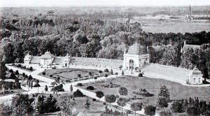 Orangerie im Gutspark Gautzsch, um 1910
