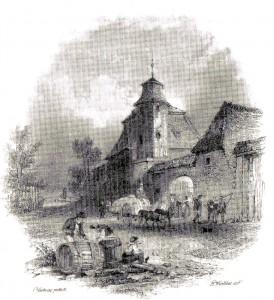 Rittergut Mockau um 1850