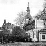 Herrenhaus und Unter- oder Schlosskirche um 1935