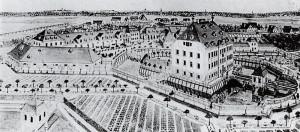 Rittergut Zöbigker, um 1720