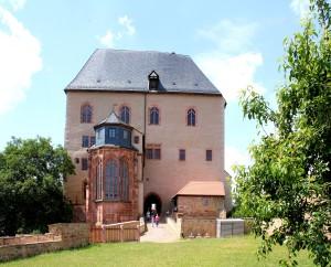 Schloss Rochlitz, Querhaus und Schlosskapelle