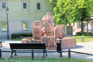 Steinmetzbrunnen Rochlitz