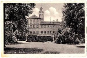 Schloss Rötha, Postkarte um 1940