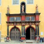 Rudolstadt, Schloss Heidecksburg, Portal Nordflügel