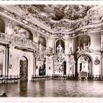 Schloss Heidecksburg, Großer Festsaal, Postkarte 1950er Jahre