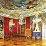 Schloss Heidecksburg, Roter Saal, Postkarte 1980er Jahre