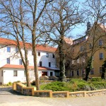 Rittergut Schenkenberg, Herrenhaus, Rückseite