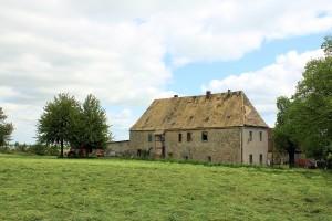 Schlatitz, Rittergut Kleinschlatitz, Herrenhaus