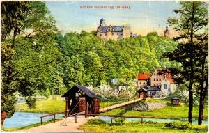Schloss Rochsburg, Postkarte (Jahr unbekannt)