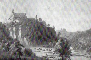 Schloss Rochsburg, um 1810