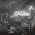 Schloss Waldenburg, Brand 1848