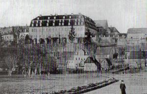 Schloss Wechselburg um 1900