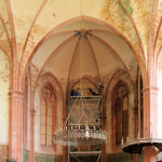 Schönfeld, ehem. Gutskirche, Chor (Zustand 2011)