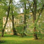 Rittergut Siegelsdorf, Herrenhaus Parkseite