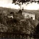 Schwarzburg, Kaisersaal, Postkarte um 1960