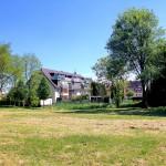 Rittergut Selben, Blick vom Standort des Herrenhauses zum Gutshof