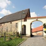 Rittergut Taucha, Zufahrt