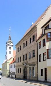 Torgau, Freier Hof in der Nonnengasse bei dem Pfarrhof (Pfarrstraße 4)