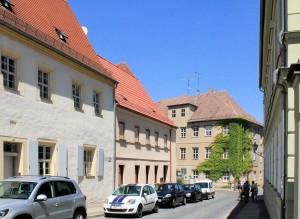 Torgau, Freier Hof in der Nonnengasse (Pfarrstraße 9)