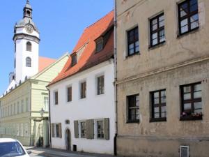 Torgau, Freier Hof in der Nonnengasse (Pfarrstraße 6)
