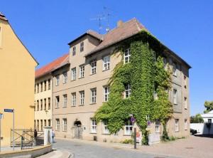 Torgau, Freier Hof bei der Kirche Unser Lieben Frauen (Ritterstraße 15)