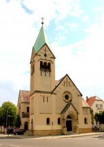 Torgau, Kath. Pfarrkirche Zur schmerzhaften Mutter Gottes