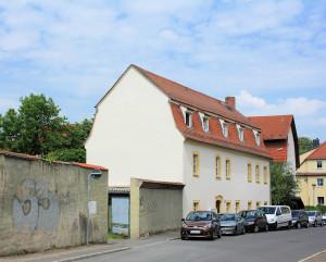 Torgau, Mühlhof des Klosters auf dem Petersberge