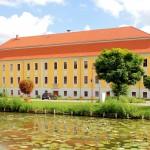 Rittergut Treben, Herrenhaus, Hofansicht